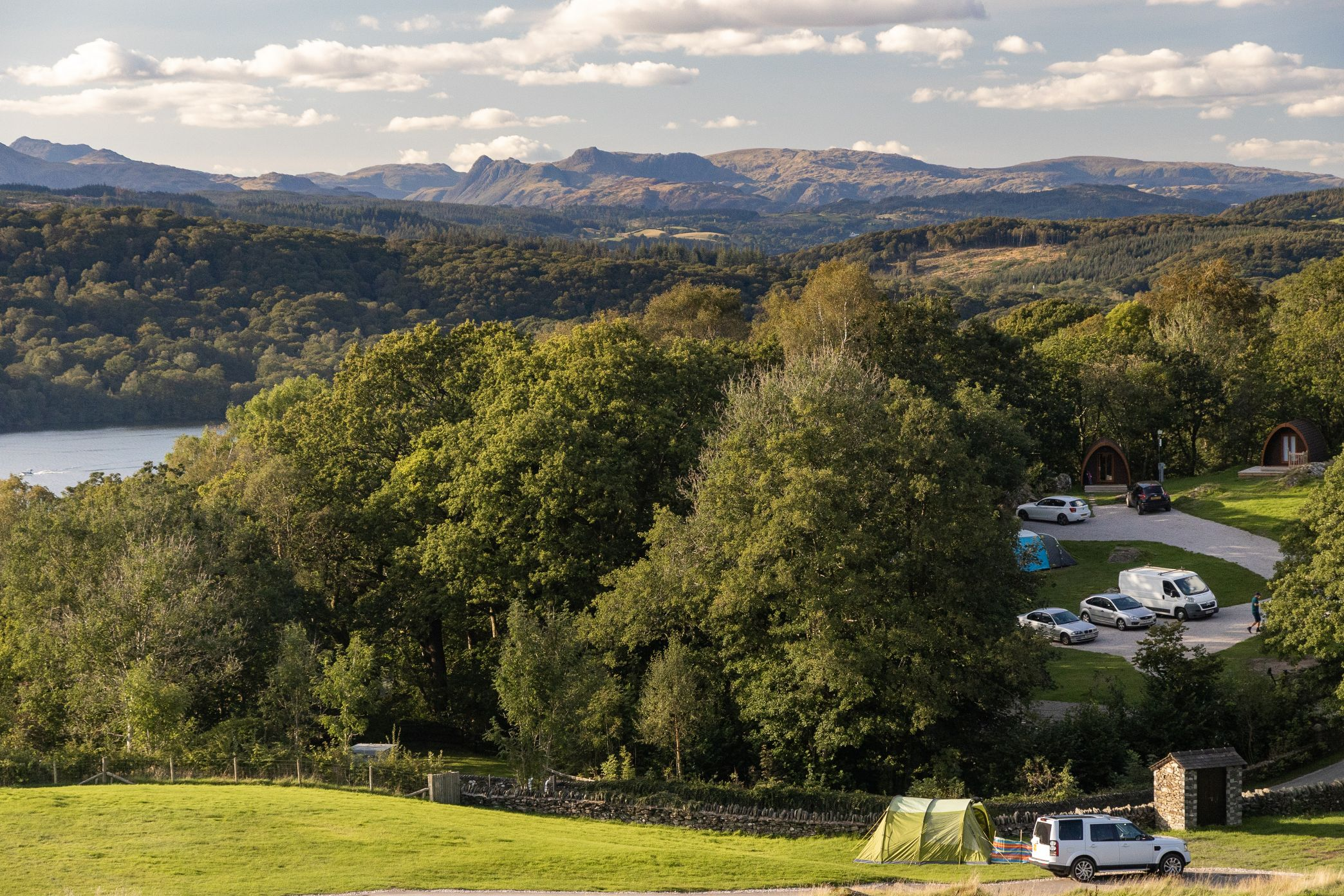 Park Cliffe Camping & Pods Lake District