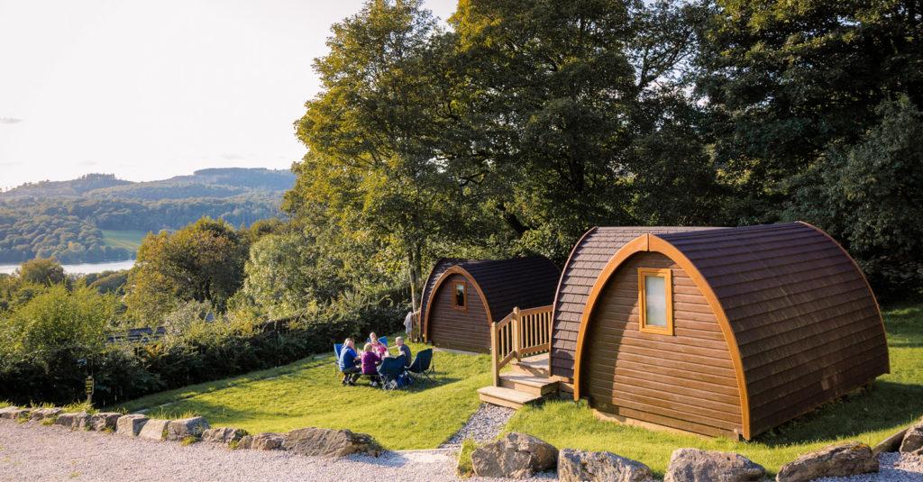 park cliffe external camping pods