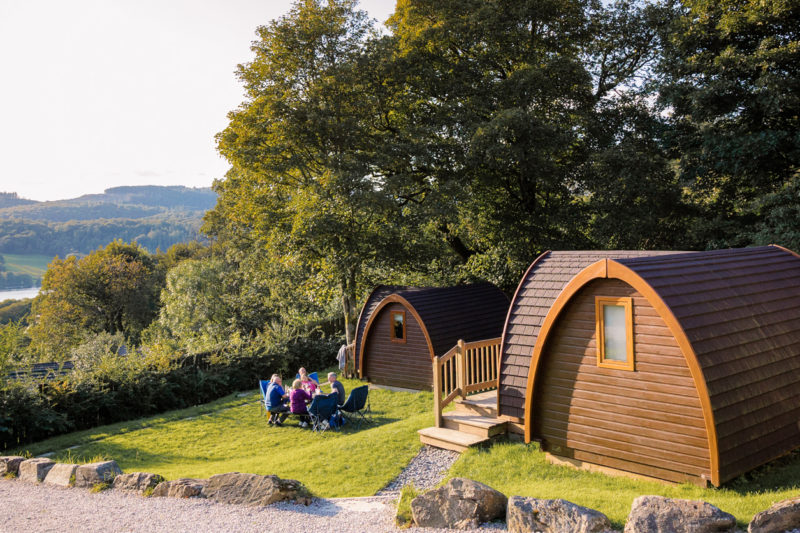 park cliffe external camping pods