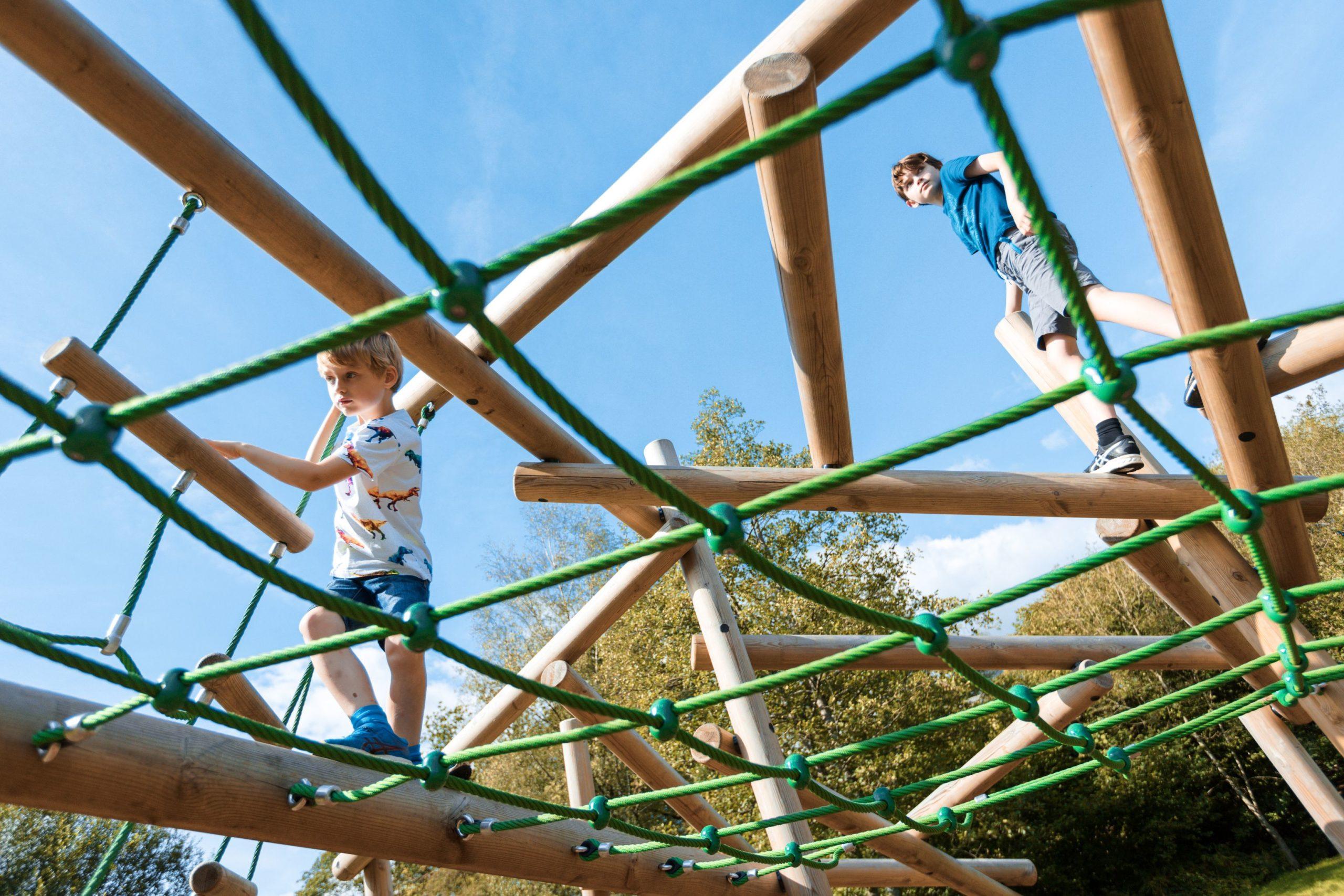 Playground Childrens Climbing Frame Lake District