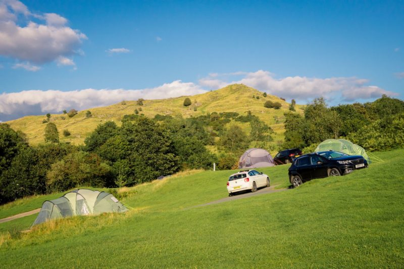 Camping Park Cliffe Lake District