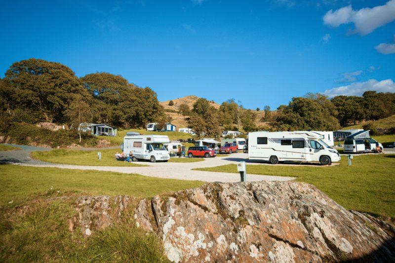 Touring Motorhomes Park Cliffe Lake District