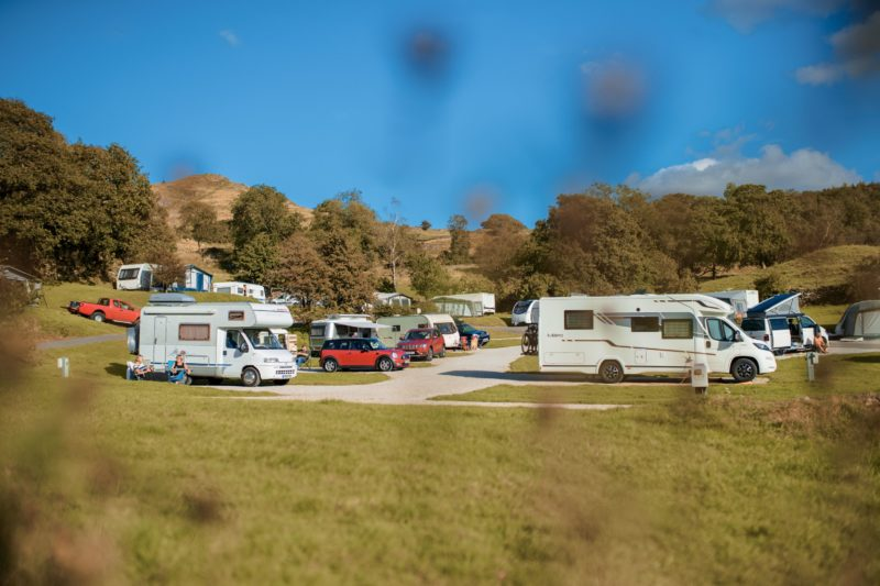 Touring Motorhomes Park Cliffe Lake District