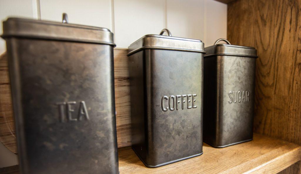 shepherds hut tea and coffee Lake District