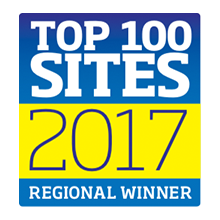 Top 100 Sites 2017 Regional Winner Logo