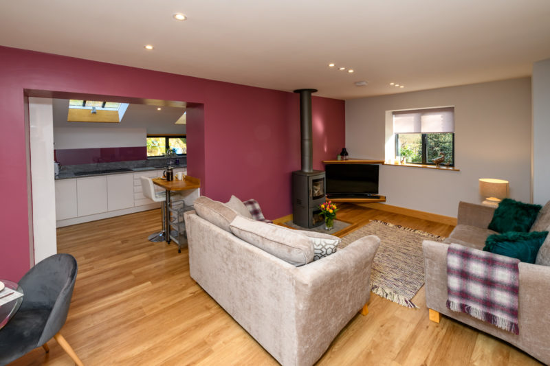 Park Cliffe Self Catering Cottage Living Area