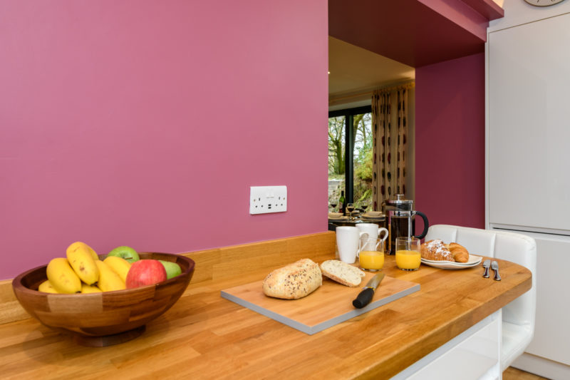 Park Cliffe Self Catering Cottage Breakfast