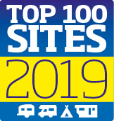 Top 100 sites 2019 logo