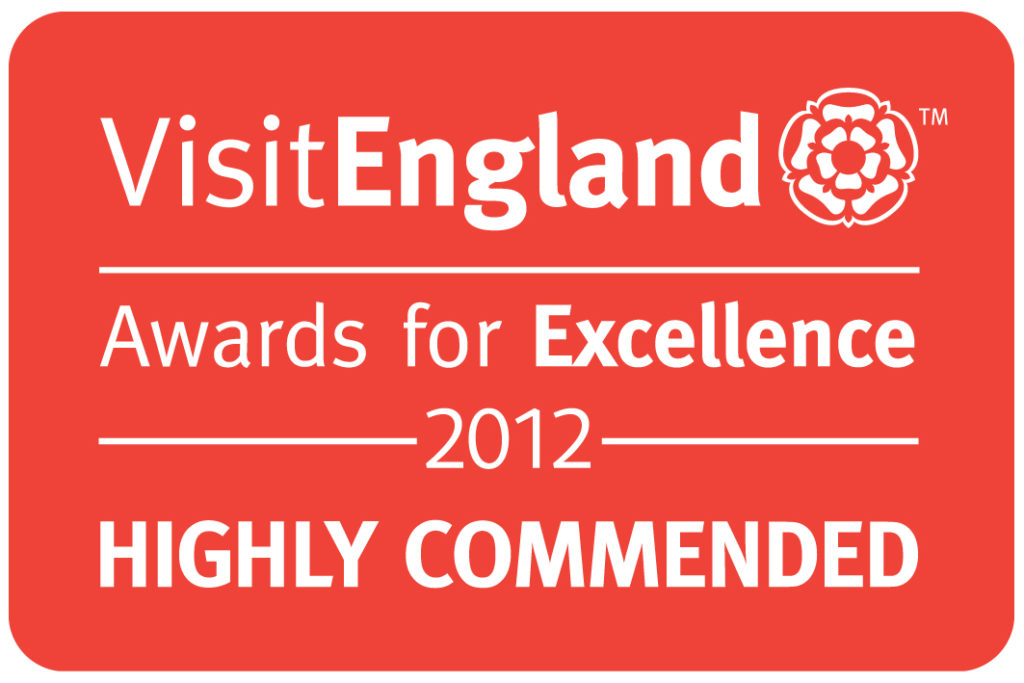 Visit England 2012 Highly Commended Logo