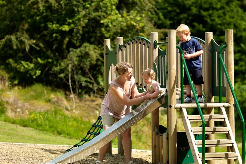 Park Cliffe Lake District Family Camping Playground