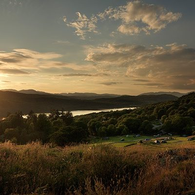 Park Cliffe Lake Windermere Sunset