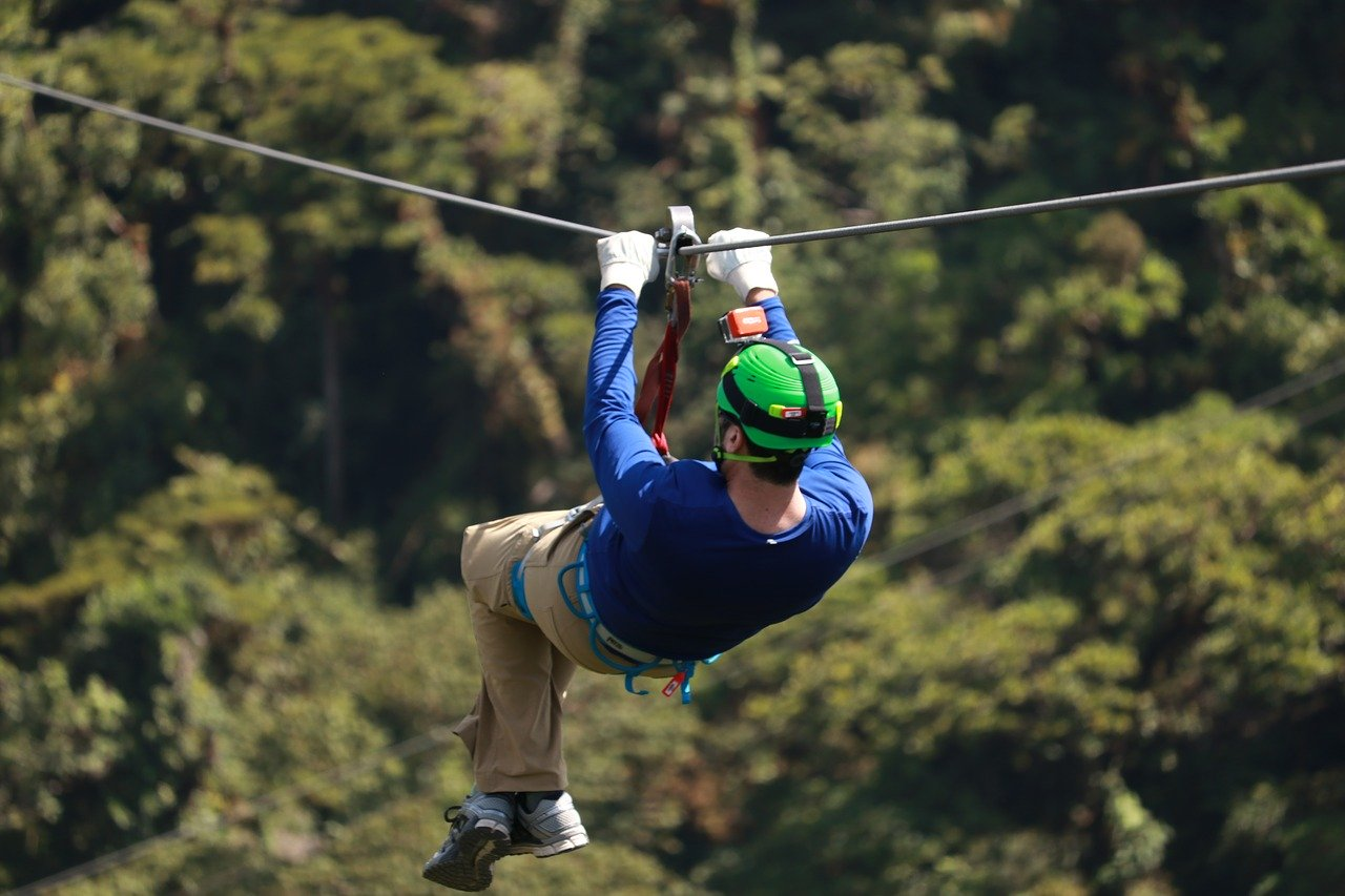 Go Ape Grizdale High Ropes Zip Wire Lake District