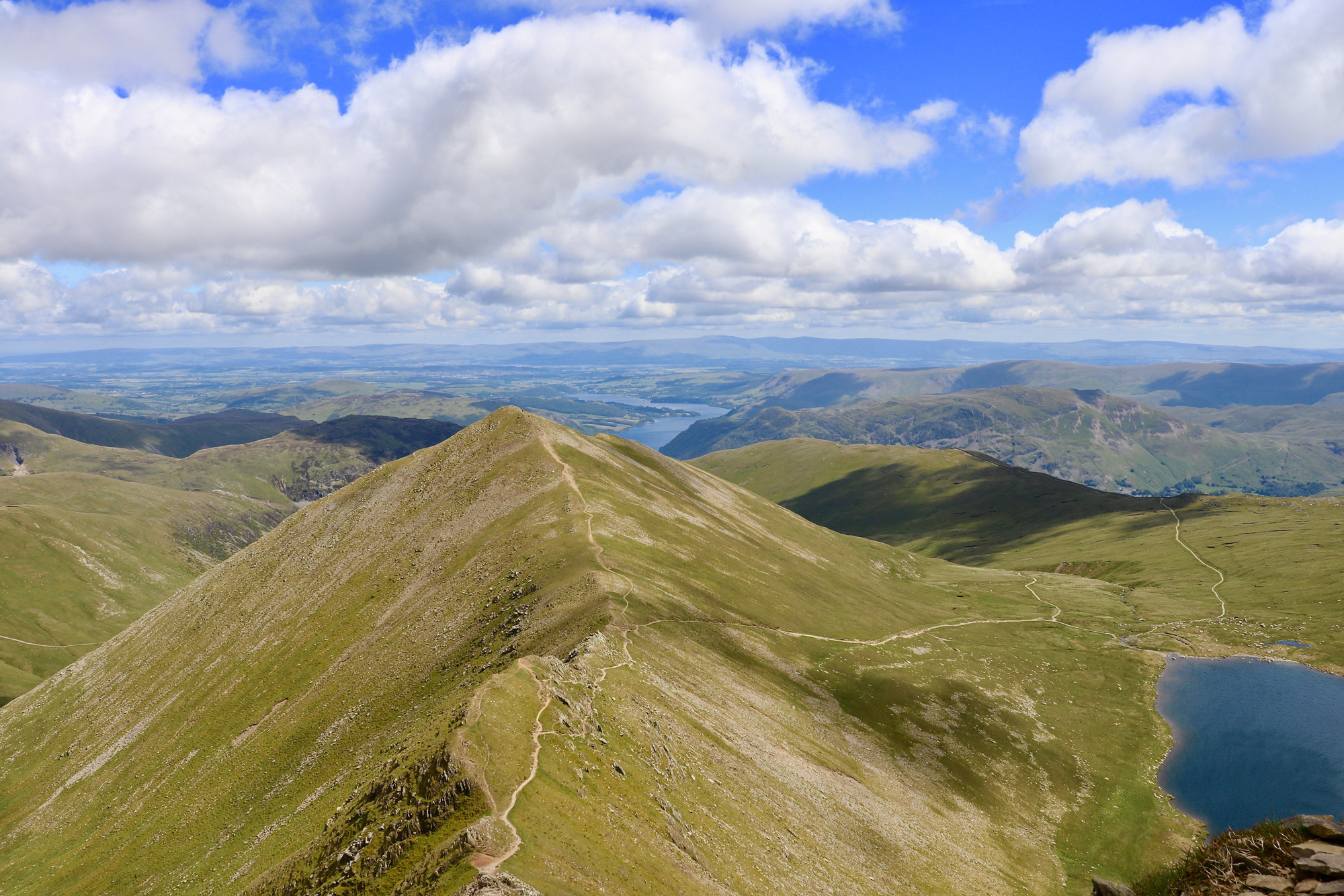 Helvellyn, classic walks in the Lake District.