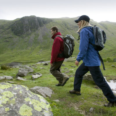 Bowfell and Crinkle Crags, classic Lake District walks