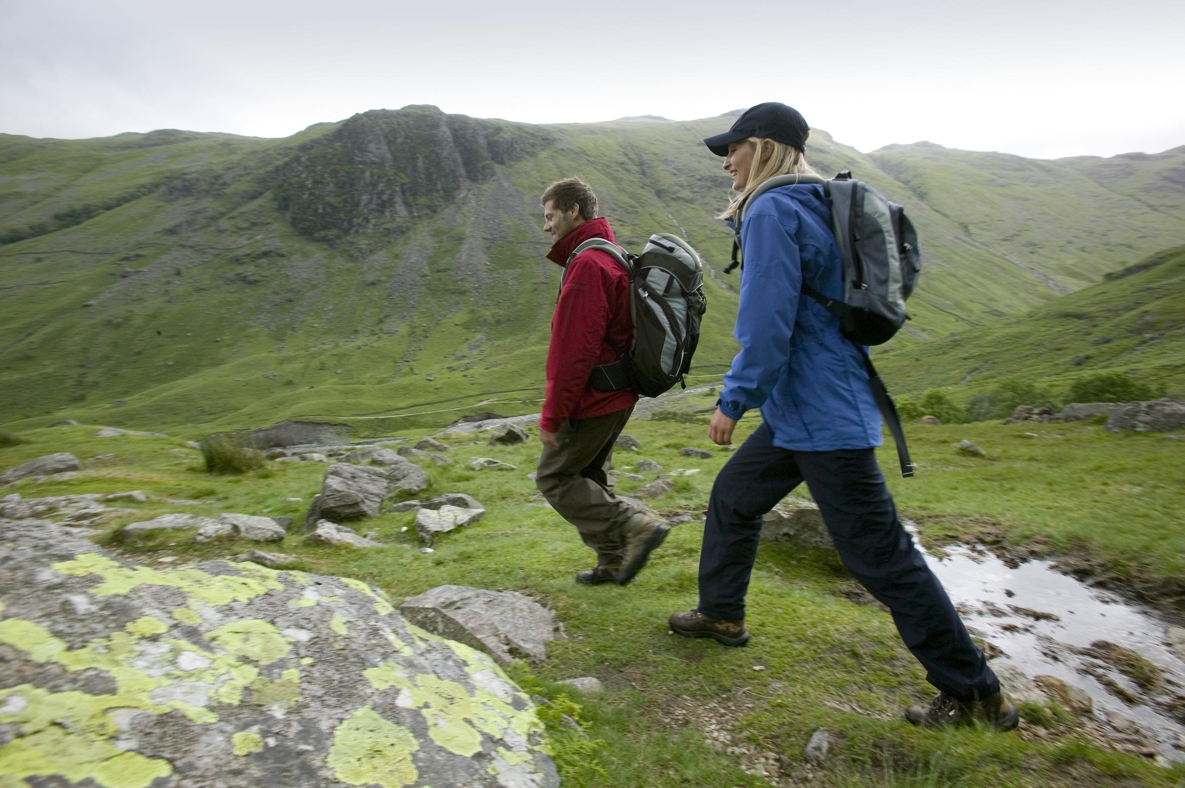 BowfellandCrinkle Crags, classic Lake District walks