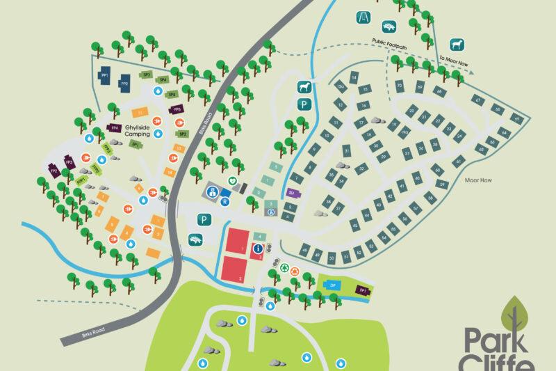 Park Cliffe Map